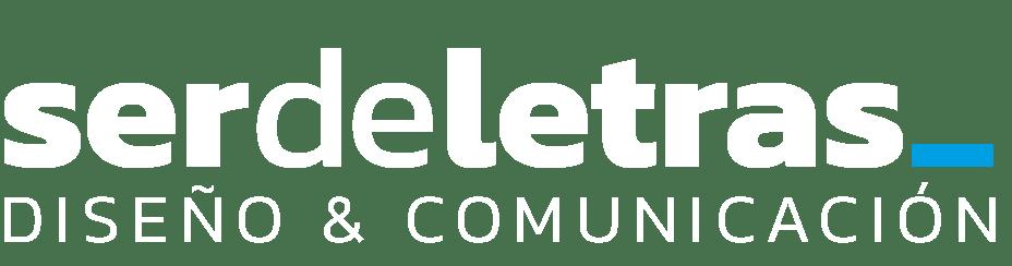 serdeletras logo blanco